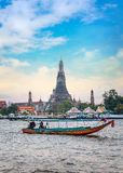 Wat Arun - ο ναός της Dawn στη Μπανγκόκ Στοκ Εικόνα