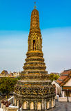 Wat Arun στη Μπανγκόκ ή το ναό του κάτω Στοκ εικόνες με δικαίωμα ελεύθερης χρήσης