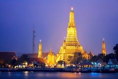 Wat Arun στη Μπανγκόκ Στοκ εικόνες με δικαίωμα ελεύθερης χρήσης