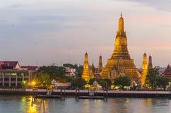 Wat Arun στο λυκόφως, Μπανγκόκ, Ταϊλάνδη Στοκ φωτογραφίες με δικαίωμα ελεύθερης χρήσης