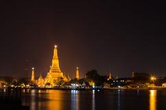 Wat Arun, ταϊλανδικός ναός Στοκ Εικόνα