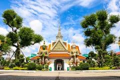 Wat Arun Бангкок Таиланд Стоковые Изображения RF