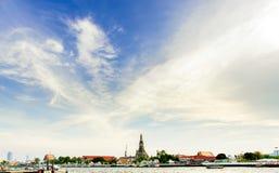 Wat Arun, Бангкок Стоковое Фото