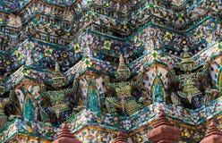 Wat Arun буддийский висок Стоковые Изображения RF