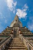 Wat Arun буддийский висок Стоковые Фотографии RF
