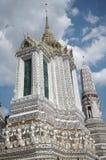 Wat Arun, висок в Бангкоке, Таиланде Стоковое Изображение RF