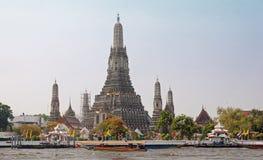Wat Arun в Бангкоке Стоковое Изображение RF
