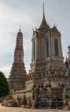 Wat Arun в Бангкоке - Temple of Dawn стоковые изображения