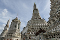 Wat Arun или Temple of Dawn, Бангкок, Таиланд Стоковые Фотографии RF