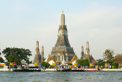 Wat Arun. The Temple of Dawn, Bangkok Royalty Free Stock Photo