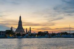 Wat Arun lizenzfreie stockfotos
