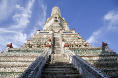 Bangkok, Thailand, Wat Arun Temple. Wat Arun in Bangkok, Thailand Stock Image