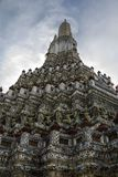 Wat Arun. View on the temple Wat Arun from the bottom. Bangkok, Thailand Stock Photo