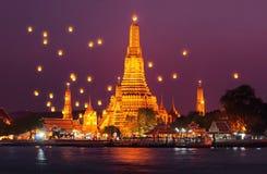 Wat Arun Imágenes de archivo libres de regalías