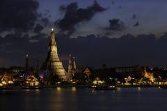 Wat Arun. Royaltyfri Foto