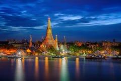 Wat Arun and Arun pagoda stock photos