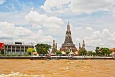 Wat Arun Bangkok fotografia stock libera da diritti
