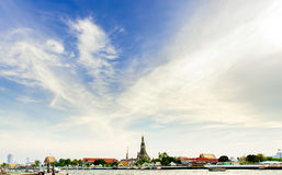 Wat Arun, Bangkok Photo stock