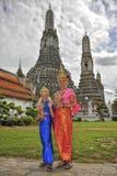 Wat Arun in Bangkok Stock Foto's