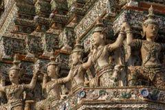 Wat Arun in Bangkok Stock Afbeeldingen