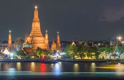 Wat arun, bangkok Stock Foto's