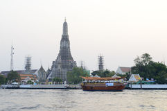 Wat Arun in Bangkok Royalty-vrije Stock Foto's