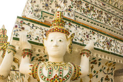 Wat Arun in Bangkok stockfoto