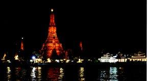 Wat Arun in Bangkok. Buddhistisk Tempel Wat Arun in Bangkok, Thailand Stock Photo