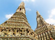Wat Arun in Bangkok Stock Photos