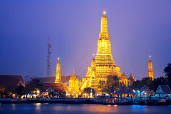 Wat Arun in Bangkok Royalty Free Stock Images
