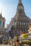Wat Arun in Bangkok - Temple of Dawn Stockbilder