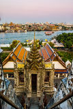 Wat Arun in Bangkok or Temple of the Down Royalty Free Stock Image