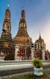 Wat Arun in Bangkok or Temple of the Down Stock Photo