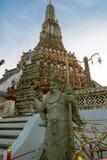 Wat Arun in Bangkok or Temple of the Down Stock Image