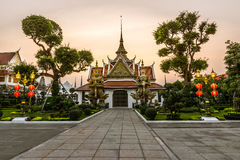 Wat Arun in Bangkok or Temple of the Down Stock Images