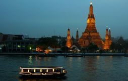 Wat Arun Bangkok Thailand Royalty-vrije Stock Afbeeldingen