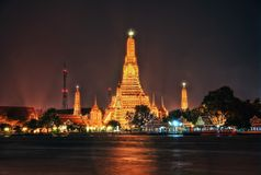 Wat Arun Bangkok Thailand fotografia stock libera da diritti