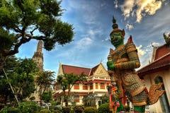 Wat Arun Bangkok Thailand fotografia stock