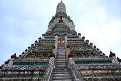 Wat Arun, Bangkok, Thailand. Wat Arun, the town's landmark of Bangkok, the capital of Thailand Royalty Free Stock Images
