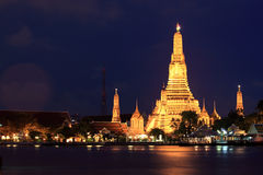 Wat Arun - Bangkok - Thailand Royalty-vrije Stock Afbeeldingen