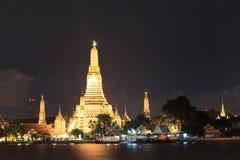 Wat Arun - Bangkok - Thailand Royalty-vrije Stock Foto's