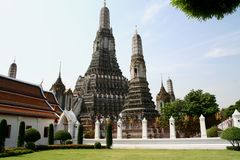 Wat Arun Bangkok. In Thailand Royalty Free Stock Photo