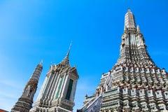 Wat Arun, Bangkok, Thailand Arkivbild