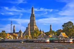 Wat Arun, Bangkok, Thailand Fotografering för Bildbyråer