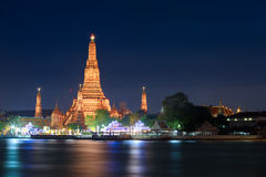 Wat Arun in Bangkok, Thailand. royalty free stock photo