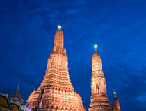 Wat Arun in Bangkok, Thailand Royalty Free Stock Photos
