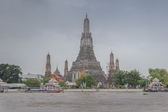 Wat Arun Bangkok royalty free stock photography
