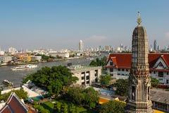 Wat Arun, Banguecoque, Tailândia, Ásia Fotos de Stock Royalty Free