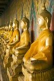 Wat Arun Buddhas Images libres de droits