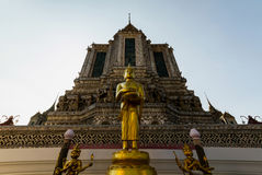 Wat Arun Buddhas Στοκ φωτογραφία με δικαίωμα ελεύθερης χρήσης